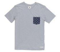 Pierce Crew - T-Shirt für Herren - Grau
