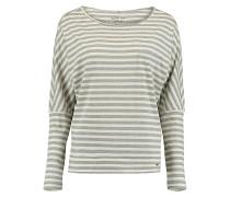 Essentials Striped - Langarmshirt für Damen - Weiß