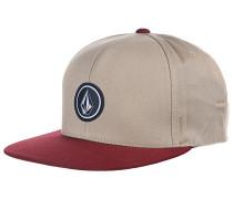 Quarter Twill - Snapback Cap für Herren - Beige