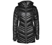 Timeless Long - Mantel für Damen - Schwarz