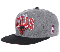 Assist League Logo Chicago BullsSnapback Cap Grau