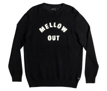 Mellowout - Sweatshirt für Herren - Schwarz