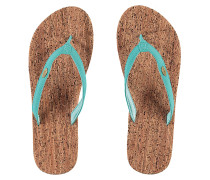 Cork Bed - Sandalen für Damen - Blau