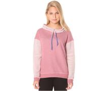 Little Talks - Kapuzenpullover für Damen - Pink