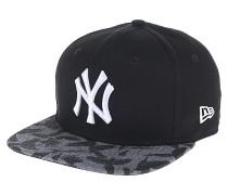 Bird Flock Vize New York YankeesSnapback Cap Schwarz
