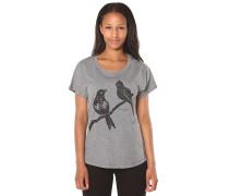 Love Birds Dolman - T-Shirt für Damen - Grau