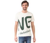 Blown Up Logo - T-Shirt für Herren - Weiß
