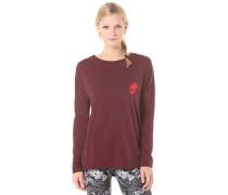 Signal - Langarmshirt für Damen - Rot