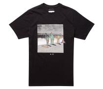 Surf Check-LB - T-Shirt für Herren - Schwarz