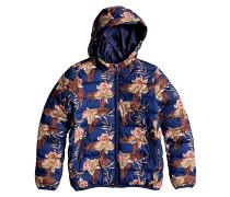 Question Printe - Jacke für Mädchen - Blau