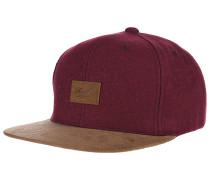 SuedeSnapback Cap Rot
