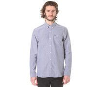 Everett Oxford L/S - Hemd für Herren - Blau