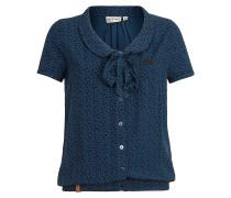 Rumvögelchen IV - Bluse für Damen - Blau