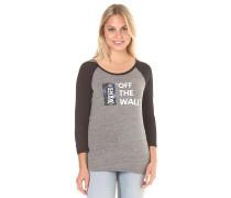 Palm Night Raglan - T-Shirt für Damen - Grau