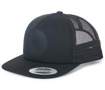 Mono - Trucker Cap für Herren - Schwarz