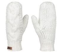 Winter Mittens - Handschuhe für Damen - Weiß