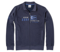 H2Skafta - Sweatjacke für Herren - Blau