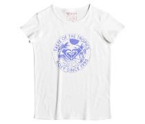 Galaxy Seventies - T-Shirt für Mädchen - Weiß