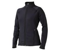Stretch Fleece - Jacke für Damen - Schwarz