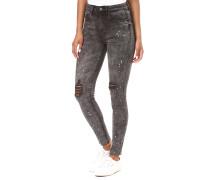 Vijunas Rw 7/8 Spot - Jeans - Grau
