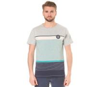 Stripes - T-Shirt für Herren - Grau