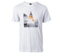 Pyramide - T-Shirt für Herren - Weiß