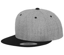 Classic 2-Tone Cap - Grau