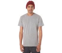 Basic Crew - T-Shirt für Herren - Grau
