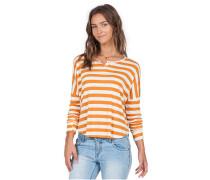 Don´t Tell - Langarmshirt für Damen - Orange