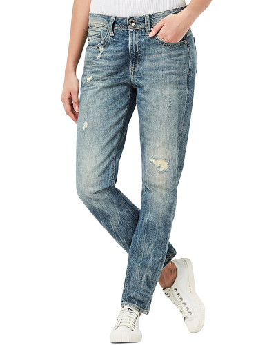 Midge Saddle Boyfriend - Jeans - Blau