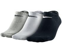 3Pack Lightweight No Show - Socken für Herren - Grau