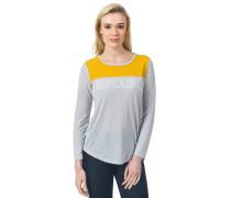 Delano - Langarmshirt für Damen - Grau