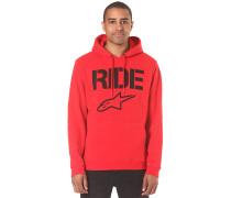Ride - Kapuzenpullover für Herren - Rot