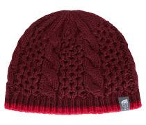 Cable Minna - Mütze für Damen - Rot