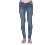 Sticker - Jeans für Damen - Blau
