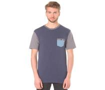 Baysic Pocket - T-Shirt für Herren - Blau