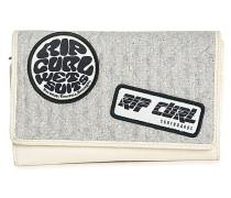 Retro Surf - Geldbeutel für Damen - Grau