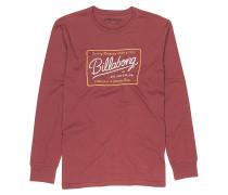 Baldwin - Langarmshirt für Herren - Rot