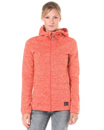 Hoody Fleece - Kapuzenjacke - Orange