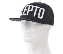 CleptoSnapback Cap Schwarz