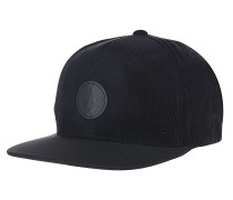 Quarter Fabric - Snapback Cap für Herren - Schwarz