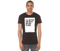 Tee Print - T-Shirt für Herren - Schwarz