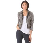 Cut Lthr - Jacke für Damen - Grau