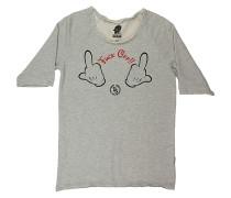 Fuckoff - Sweatshirt für Herren - Grau