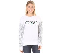 Carefree Crew - Sweatshirt für Damen - Weiß