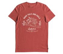Garment Dye Hard Tails - T-Shirt für Herren - Braun