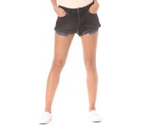 Stoned Rolled - Shorts für Damen - Schwarz