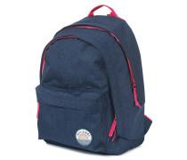 Solid Double Dome - Rucksack für Damen - Blau