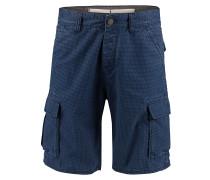 Complex Check - Shorts - Blau