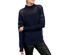 Peepin On - Strickpullover für Damen - Blau